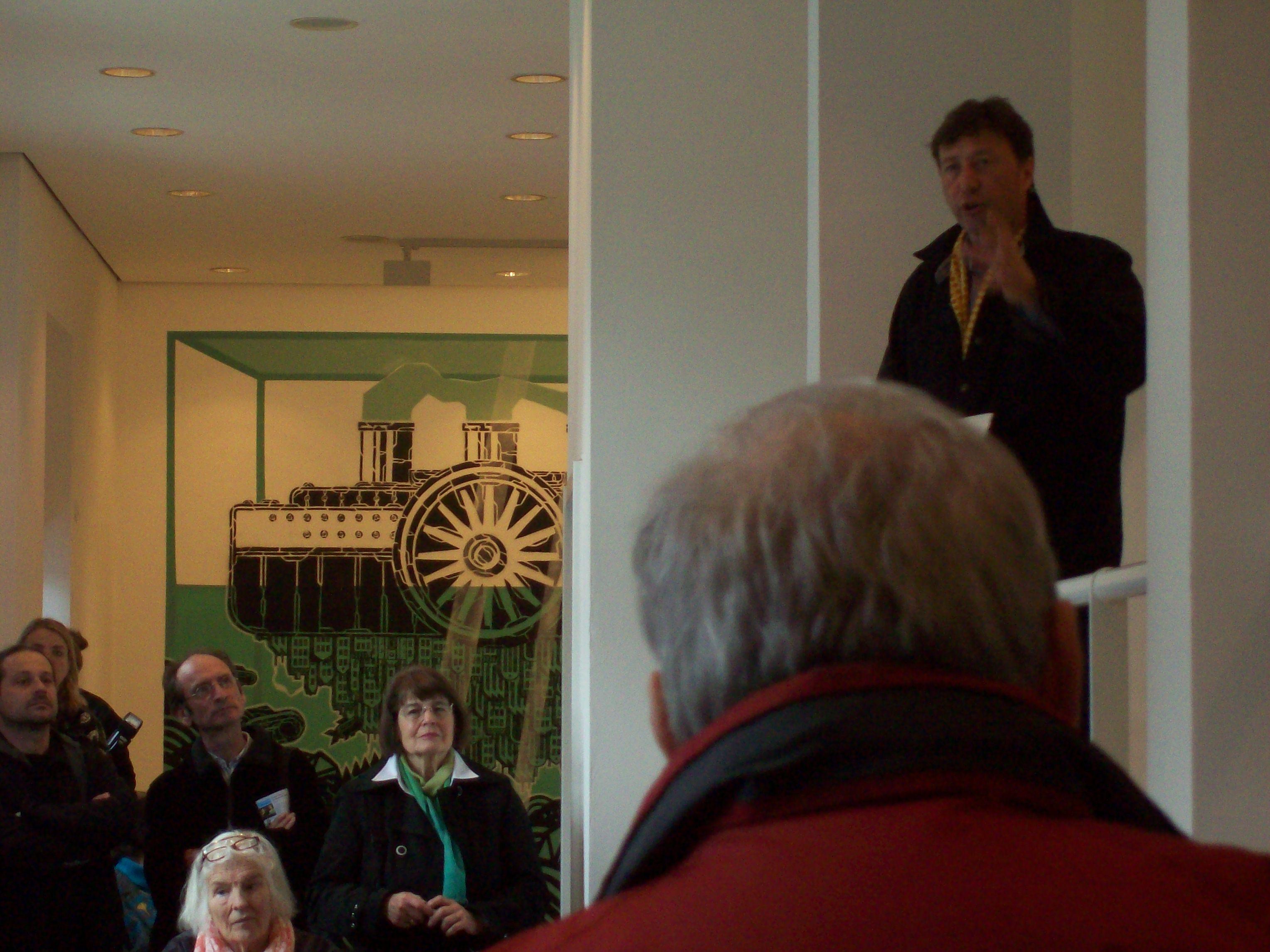 Ausstellungseröffnung am 22.04.2012